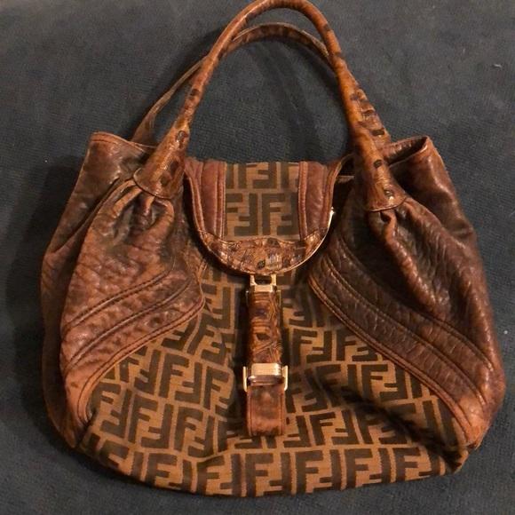 Fendi Bags   Zucca Spy Bag   Poshmark 0fead41434